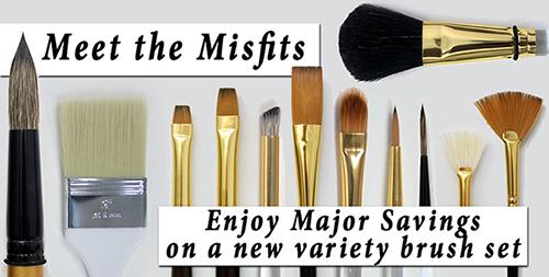 Misfit Brush newsletter